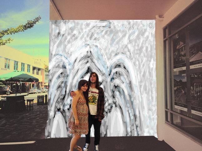 Angel-Mural